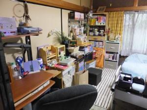自分の部屋を大掃除中(2014/9/26)