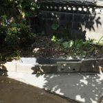 我が家の庭・奥の一角(2017/5/27)
