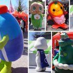 ご当地キャラ大集合!!オカザえもんのおともだち101人プロジェクト3 岡崎公園にて(2017/2/25・26)