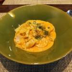 Radice「ラディーチェランチ-ズワイ蟹とキャベツのトマトクリームパスタ(2015/6/6)」