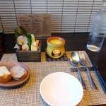 Radice「ランチ・野菜のバーニャカウダと自家製パン(2016/1/16)」