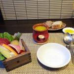 ラディーチェ「コース料理・新鮮野菜のバーニャカウダ(2017/8/28)」
