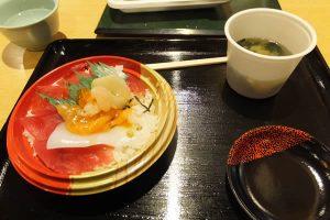 蒲郡ラグーナ・魚市場「ミニ海鮮丼」