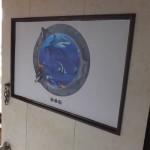 部屋の模様替え-前「ドア・部屋の内側 リフォーム後(2016/8/15)」