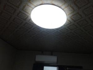 部屋の模様替え-後「LED照明(2016/6/27)」