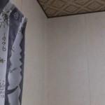 部屋の模様替え「壁(クリーニング後)」