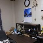 部屋の模様替え-後「購入した机と作品(2016/7/22)」