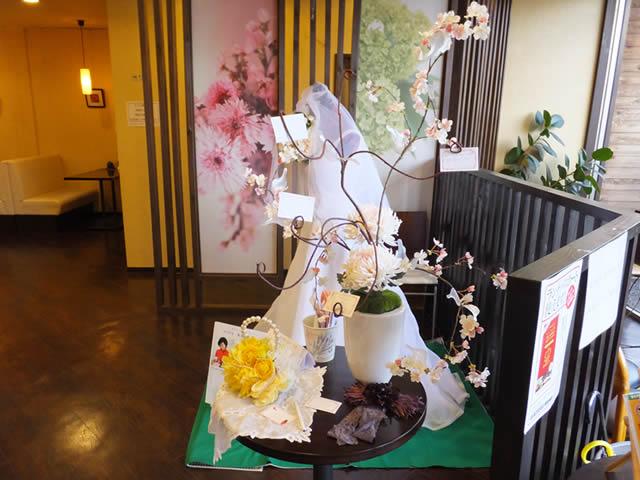 作品展in華乃庵(2015/2/18-3/3)