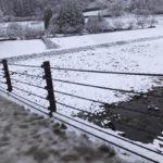 白川郷 であい橋は凍ってます(2018/12/9)