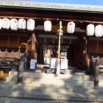 上地八幡宮(2015/1/3)