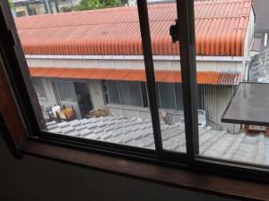 部屋の模様替え「窓ガラス(クリーニング・網戸張替後)」