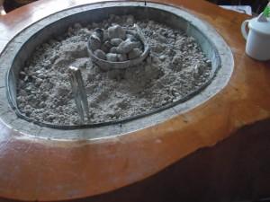 山女魚「火鉢」